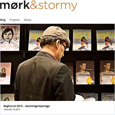 Nyrenoveret blog med fotoreportage fra BogForum
