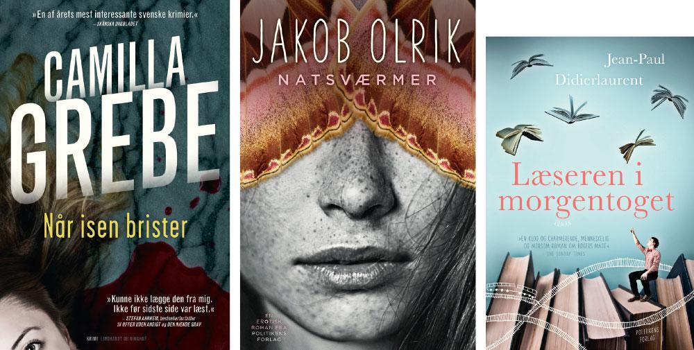 Nye udgivelser i skønne genrer